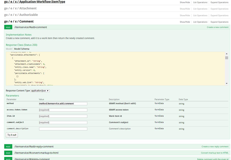 Gravity V5 M3 Interactive REST API documentation