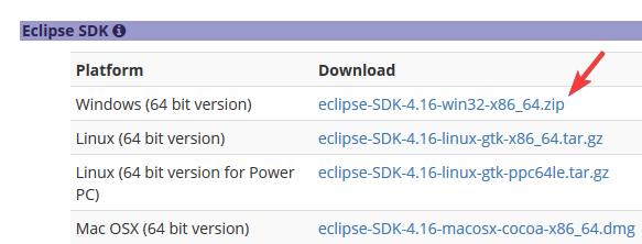 Eclipse ide 2020 09
