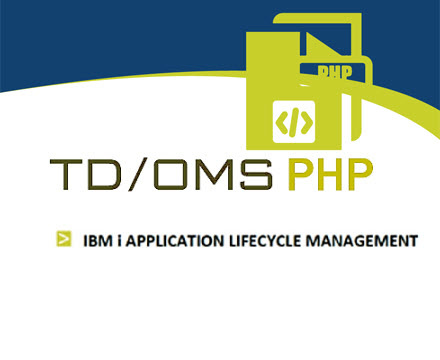 TD/OMS application change and lifecycle management tool with php